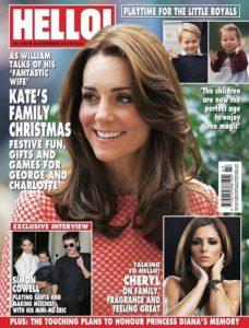 Hello magazine Saffron Bells