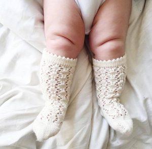 white-baby-knee-socks